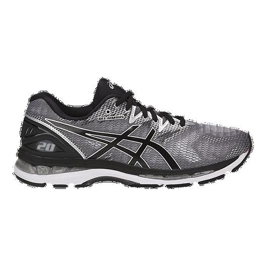 provide plenty of new arrival choose latest ASICS Men's Gel Nimbus 20 Running Shoes - Grey/Black/Silver