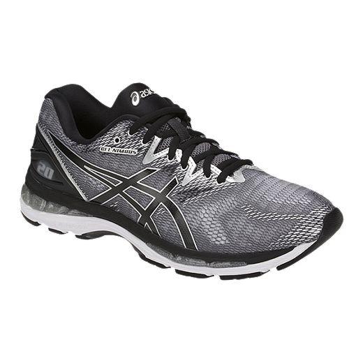 Intentar cama Musgo  ASICS Men's Gel Nimbus 20 Running Shoes - Grey/Black/Silver | Sport Chek