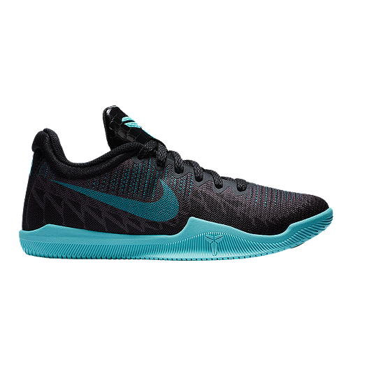 bf9d346d68fb Nike Kids  Mamba Rage Grade School Basketball Shoes - Black Blue ...