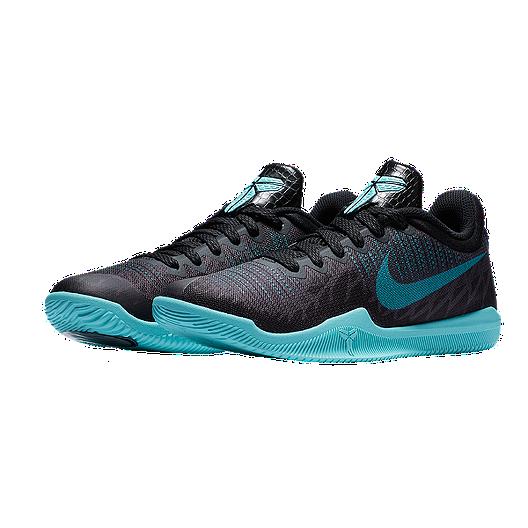 c0e6d9ba6237 Nike Kids  Mamba Rage Grade School Basketball Shoes - Black Blue ...