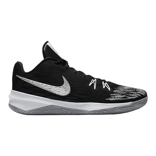 d857116db4caae Nike Men s Zoom Evidence Basketball Shoes - Black Silver