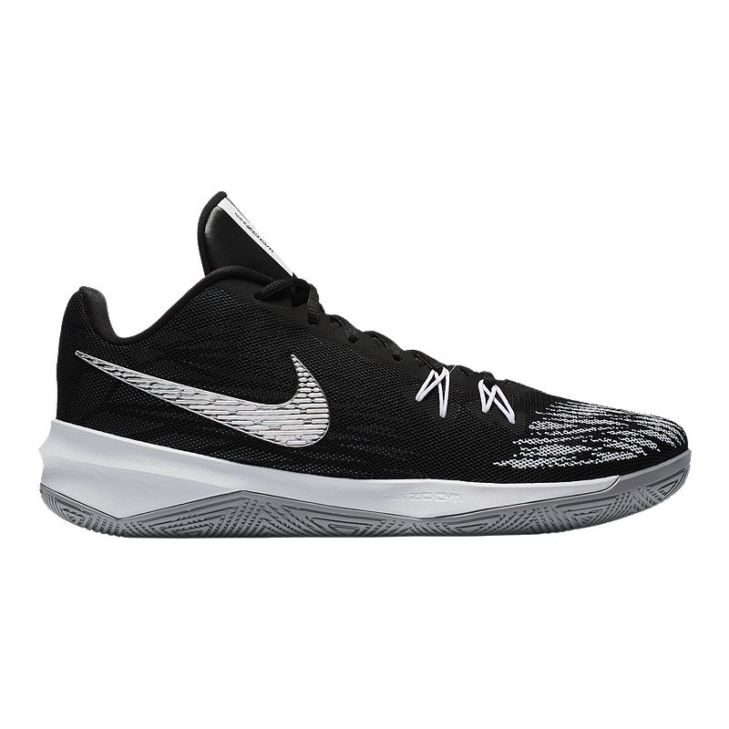 7e4f69360717 Nike Men s Zoom Evidence Basketball Shoes - Black Silver