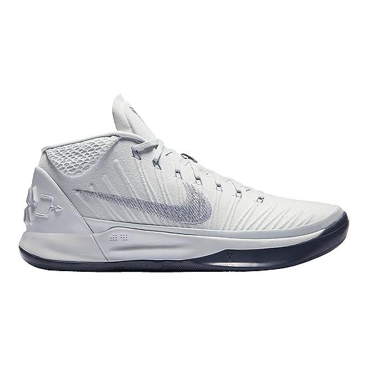 3082fa8be7cc Nike Men s Kobe A.D. Basketball Shoes - Grey Platinum