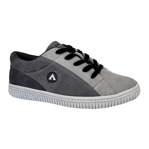 new styles 56098 58481 Airwalk Men s The One Suede Shoes - Grey Charcoal - TRI-COLOUR GREY