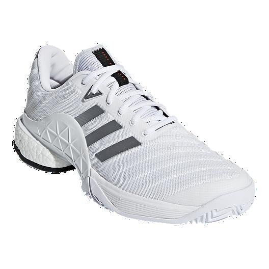 3d93b0a5c3c64 adidas Men s Barricade 2018 Boost Tennis Shoes - White. (0). View  Description