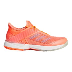 c86a08b15c0cd adidas Women s Adizero Ubersonic 3 Tennis Shoes - Coral Blue