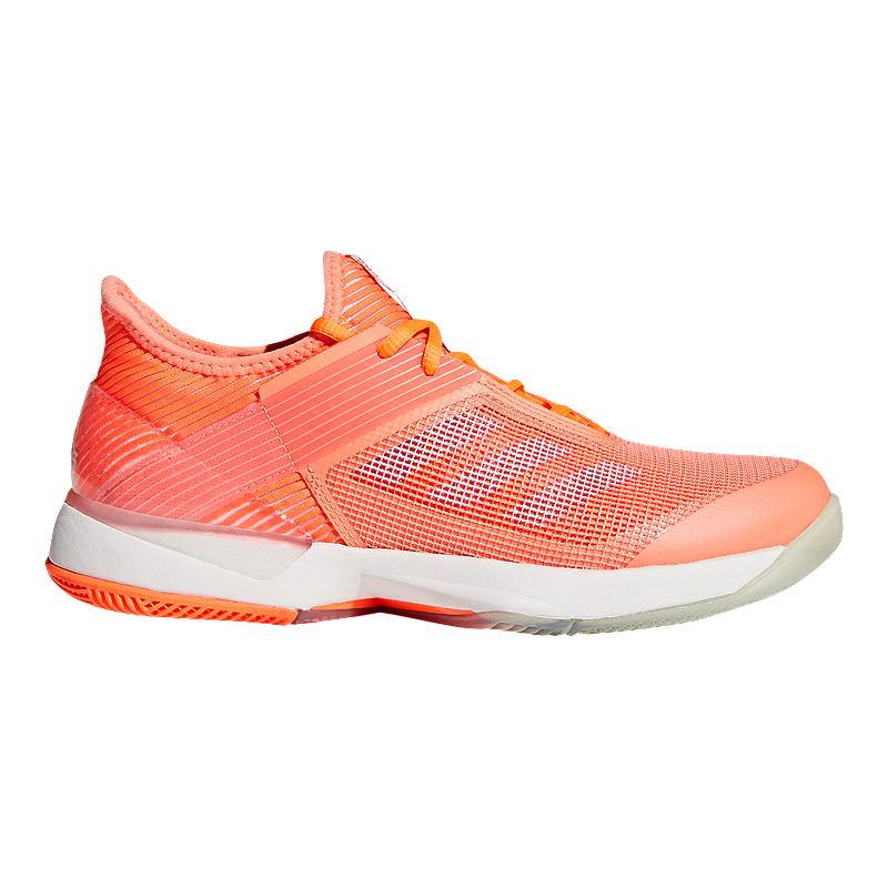 the best attitude a3e1d a4adc adidas Womens Adizero Ubersonic 3 Tennis Shoes - CoralBlue  Sport Chek