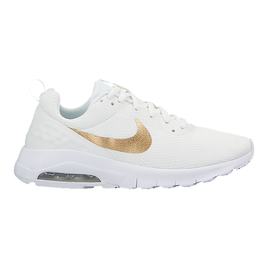 finest selection 78732 4fcdf Nike Girls' Air Max Motion LW Grade School Shoes - White/Gold | Sport Chek