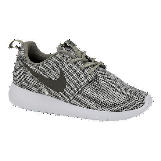 cc4fbaa0e2471 Nike Girls  Roshe One TX Grade School Shoes - Green White