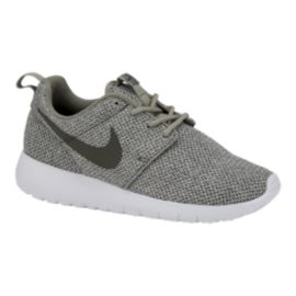 Nike Girls' Roshe One TX Grade School Shoes - Green/White