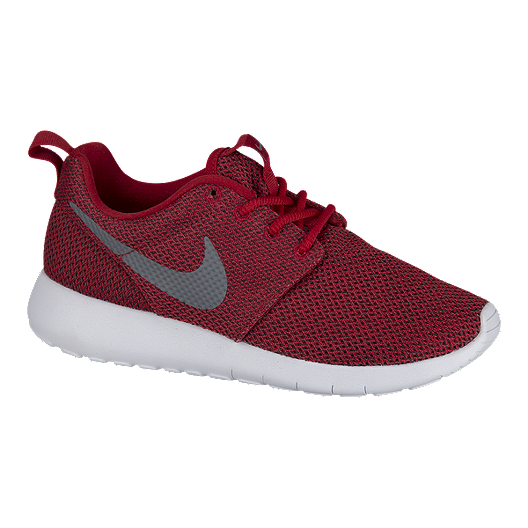 100% jakości oficjalne zdjęcia świetna jakość Nike Kids' Roshe One TX Grade School Shoes - Red/White ...