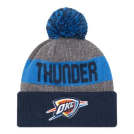 Oklahoma City Thunder New Era 16 Sport Pom Knit