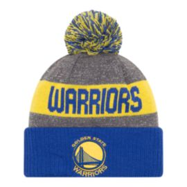 Golden State Warriors New Era 16 Sport Pom Knit