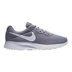 image of Nike Men's Tanjun Shoes - Wolf Grey/White with sku:332444428