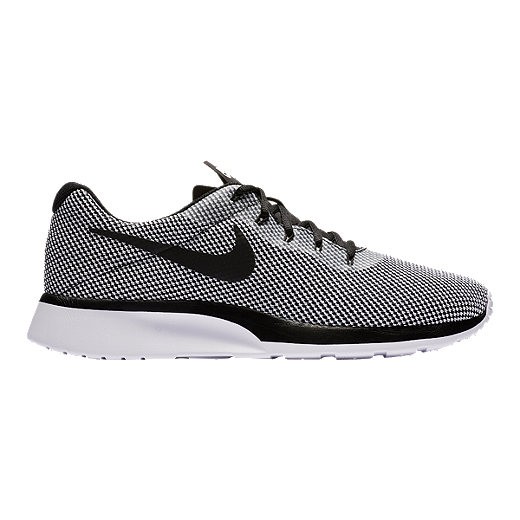 Nike Tanjun Racer mens sneakers in dark grey white & black sneakers