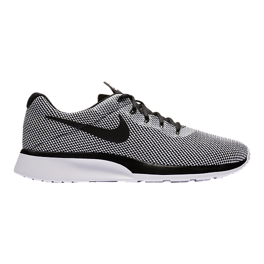 3a6c0c6b29d Nike Men s Tanjun Racer Shoes - Black White