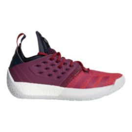adidas Men's Harden Vol 2 Basketball Shoes - Ink/Ruby Red