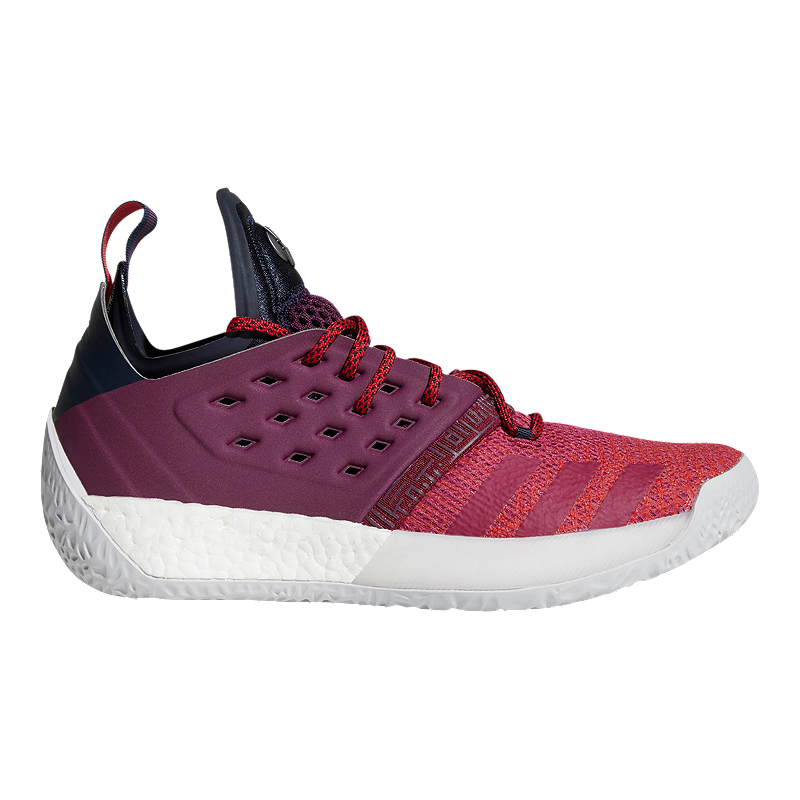 adidas Men s Harden Vol 2 Basketball Shoes - Ink Ruby Red  9c8b2cdb7