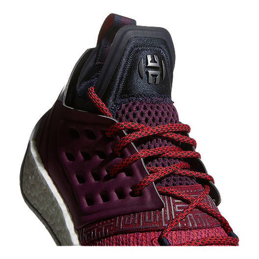 new style 4ffb1 2486b adidas Men s Harden Vol 2 Basketball Shoes - Ink Ruby Red. (0). View  Description