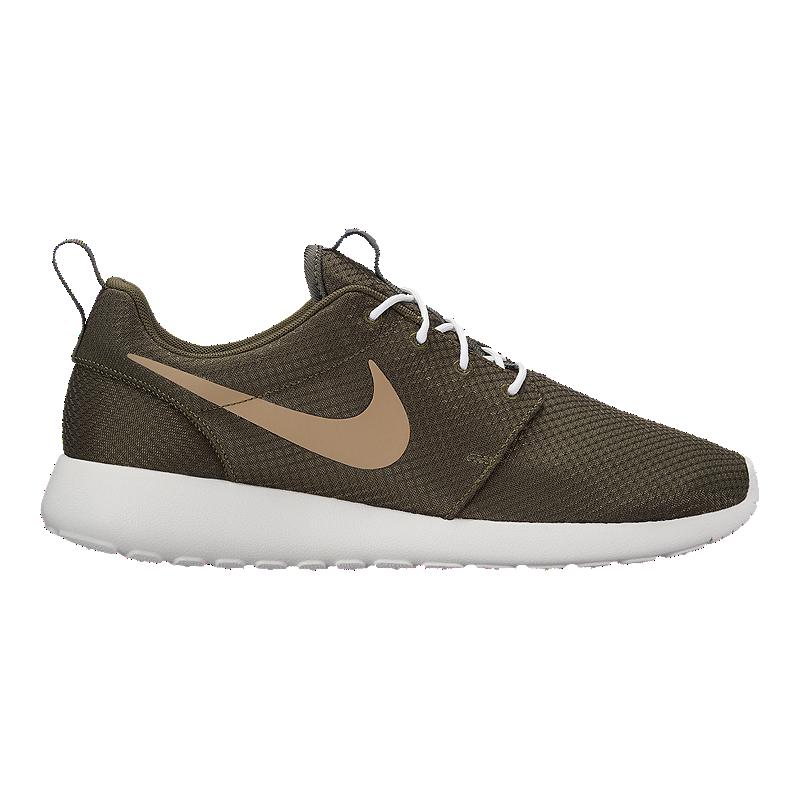 timeless design d2b87 a87b9 Nike Men s Roshe One Shoes - Khaki White   Sport Chek