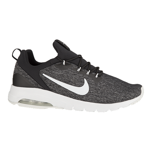 new arrival 93001 23b15 Nike Men s Air Max Motion Racer Shoes - Black Platinum - BLACK
