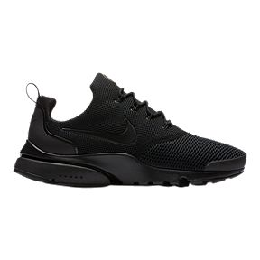 nike mens presto fly shoes black