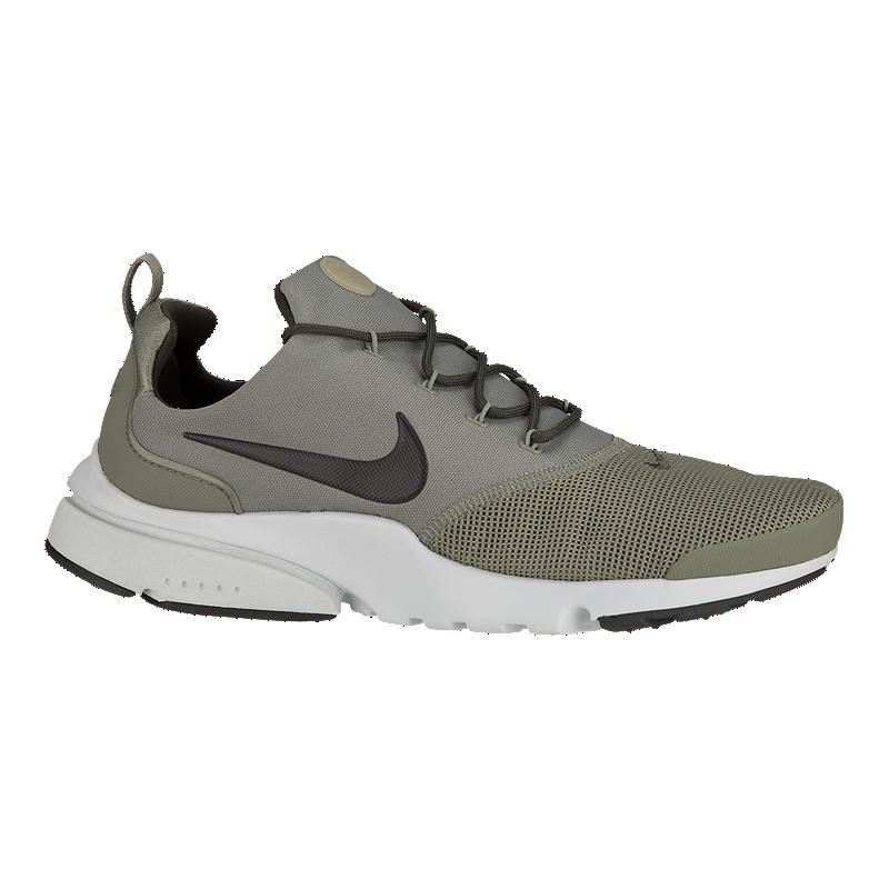 0a6359876 Nike Men s Presto Fly Shoes - Olive Grey Black