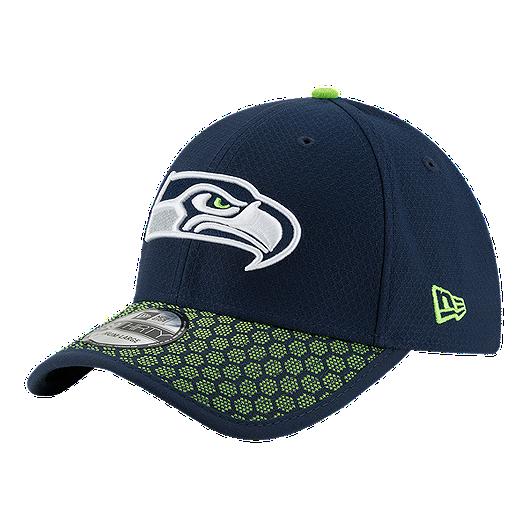 timeless design 64669 d6965 Seattle Seahawks New Era Official 3930 On Field Hat   Sport Chek