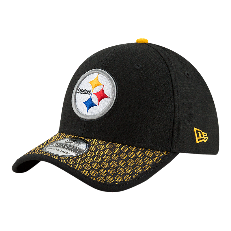 new product c2a0e 5585d Pittsburgh Steelers New Era Official 3930 On Field Hat   Sport Chek