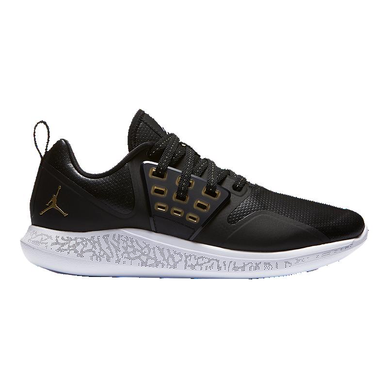 ed4a6c07c048 Nike Men s Jordan Grind Basketball Shoes - Black Gold White
