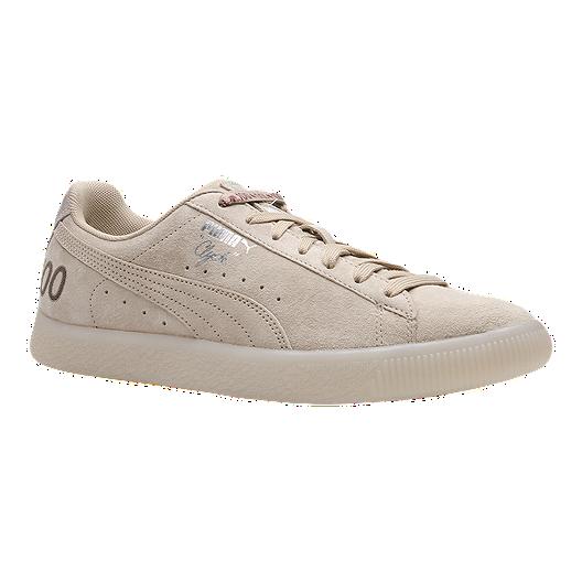 52417cca98 PUMA Men s Clyde Canada 100 (Money) Shoes - Safari Silver
