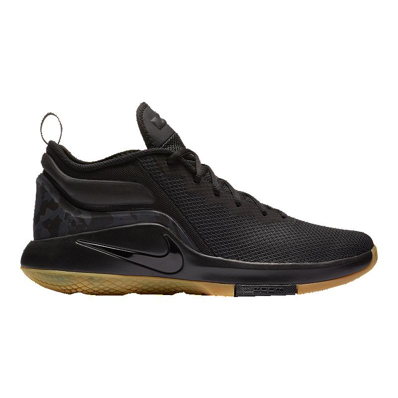 on sale 599a7 17ae9 ... discount code for nike mens lebron witness ii basketball shoes black  gum sport chek c9885 01963