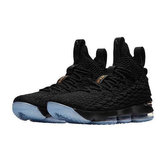 outlet store addc0 42e52 Nike Men's LeBron 15 Basketball Shoes - Black/Gold | Sport Chek