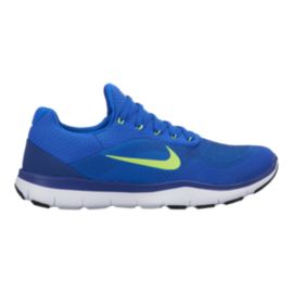 Nike Men's Free Trainer V7 Training Shoes - Blue/Volt
