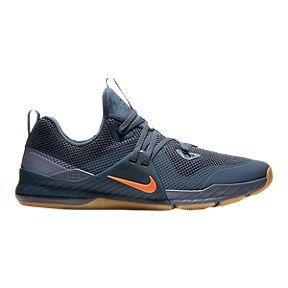 a3c7efbda25f Nike Men s Zoom Command Training Shoes - Black Blue Orange