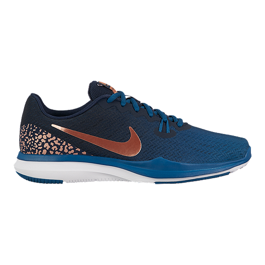3458b5c06067 Nike Women s In-Season 7 Print Training Shoes - Blue Orange