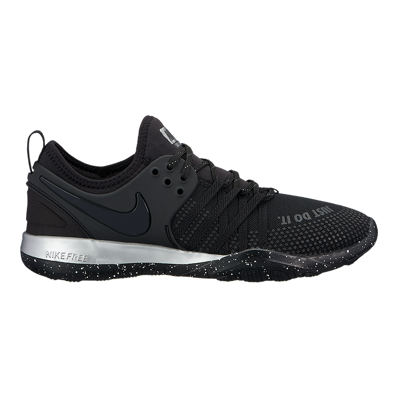 3dc8a1a93 Nike Women's Free TR 7 Selfie Training Shoes - Black/Chrome | Sport Chek