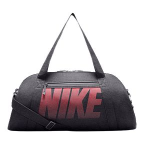 Nike Women s Gym Club Bag - Dark Grey Coral be66fd4d4d175