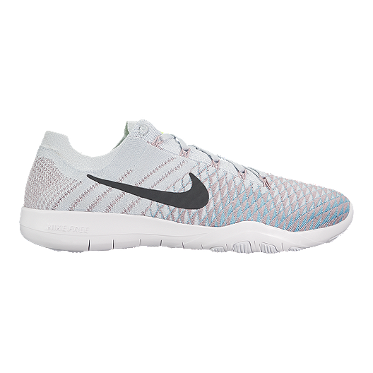6b741b87cb0e Nike Women s Free TR Flyknit 2 Training Shoes - Platinum Plum Fog ...