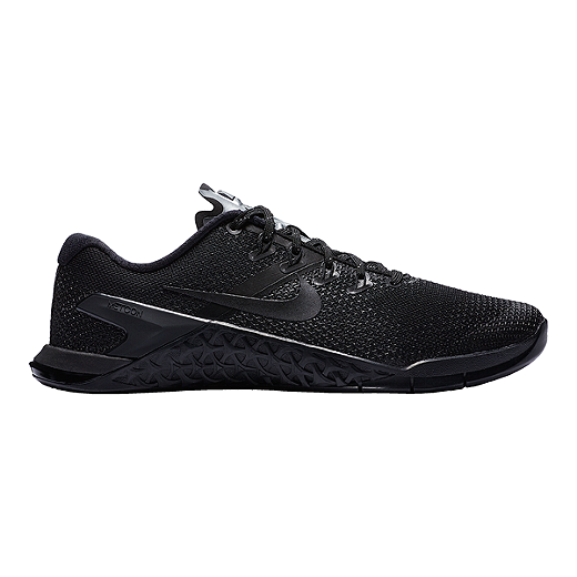 WOMEN'S NIKE METCON 4 SELFIE - Black/Chrome/Black