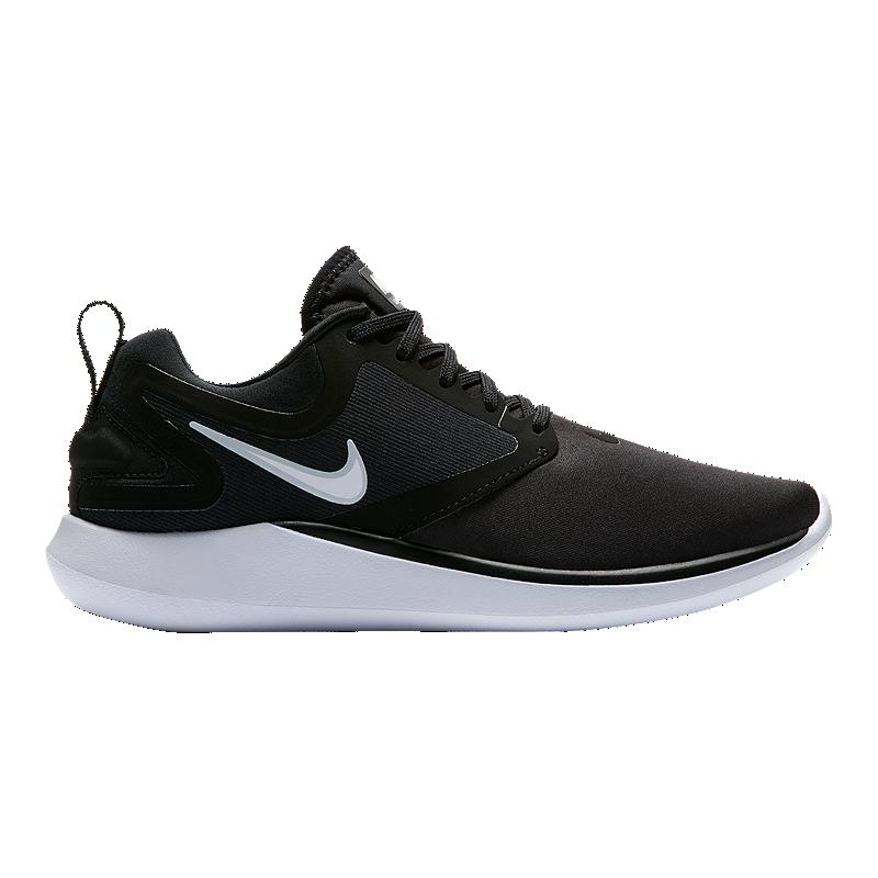 buy online 5ef33 d1e55 Nike Women s LunarSolo Running Shoes - Black White   Sport Chek