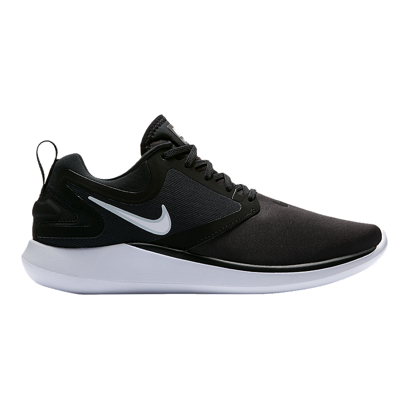 d6c8972be00e Nike Women s LunarSolo Running Shoes - Black White