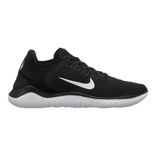 58a2cf59049e05 Nike Women's Free RN 2018 Running Shoes - Black/White | Sport Chek
