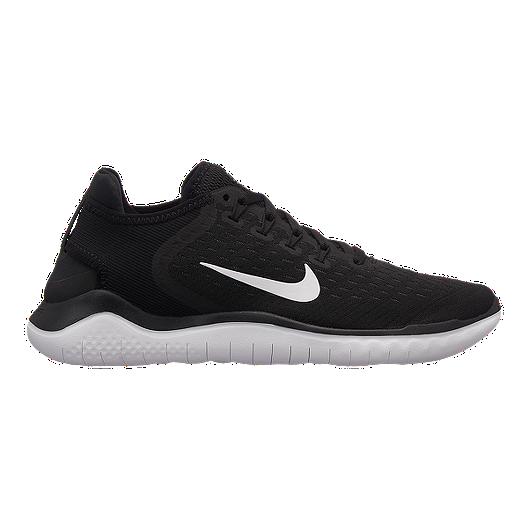 premium selection 65ce5 b76d0 Nike Women's Free RN 2018 Running Shoes - Black/White