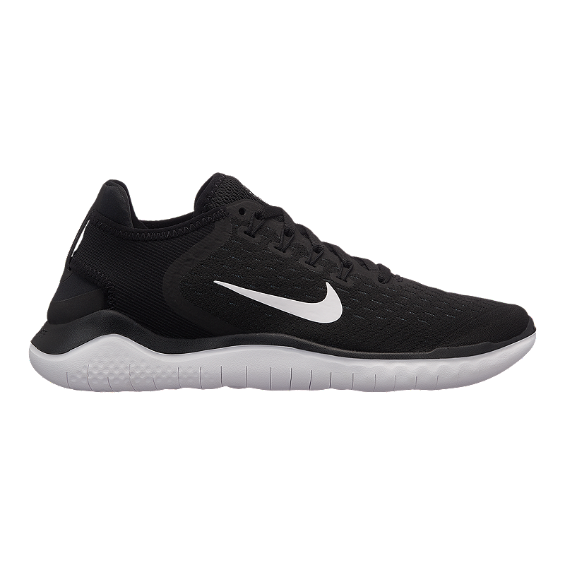 8e79f5292515 Nike Women s Free RN 2018 Running Shoes - Black White