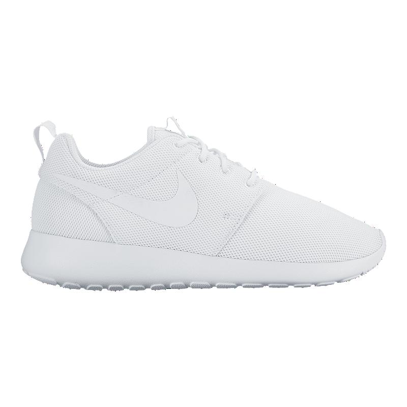 best service f304e 07788 Nike Women's Roshe One Shoes - White/White/Platinum