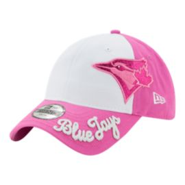 Toronto Blue Jays New Era Girls' Glitter Sweep Hat
