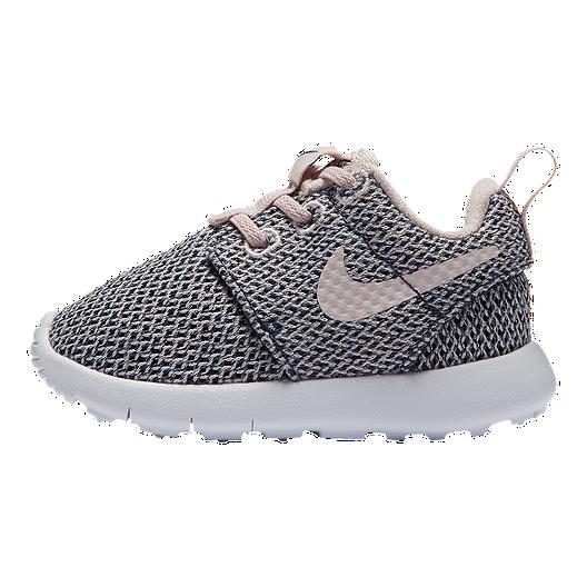 best service 03d26 e2a78 Nike Toddler Girls' Roshe One Shoes - Blush/Navy/White ...