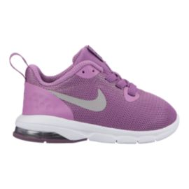 Nike Toddler Girls' Air Max Motion LW Shoes - Purple/White