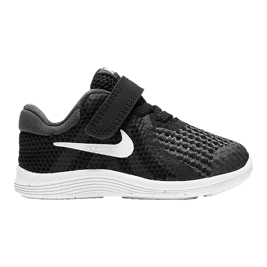 80457a0cbb44 Nike Toddler Revolution 4 Shoes - Black White